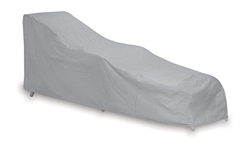 Protective Covers Weatherproof Single Chaise Lounge Cover, Gray - Chaise Single Outdoor