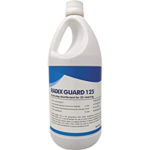 Acuro RADIX GUARD 125 : Drug Department approved Surface disinfectant | QAC based CDC & EPA approved formulation (1 Ltr)