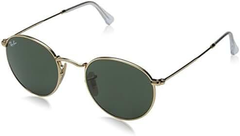 Ray Ban ORB3447 Round Metal Sunglasses, 47mm