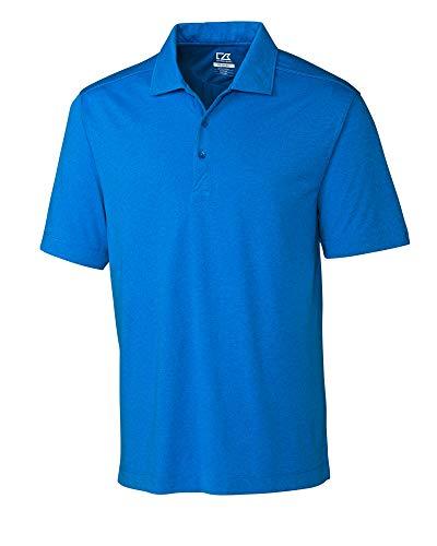 Cutter & Buck Men's CB Drytec Chelan Polo Shirt, Digital Heather - 2XT
