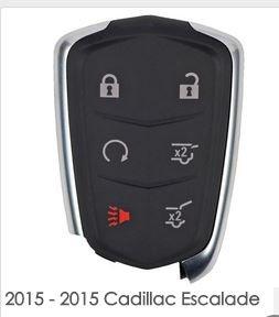 Amazoncom New 2015 Cadillac Escalade HYQ2AB 6 Button Key Remote