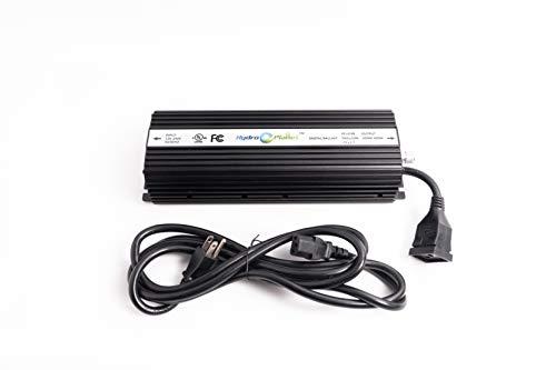 - Hydroplanet™ Hydroponic 600 Watt HPS Mh Digital Dimmable 600w Electronic Ballast (600w)