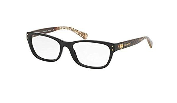 25a3989767 Coach Women s HC6082F Eyeglasses Black Wild Beast 53mm at Amazon Women s  Clothing store