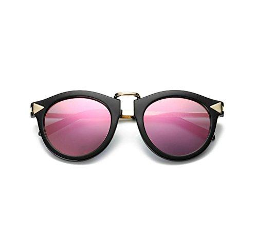 Heshun - Lunette de soleil - Femme rose
