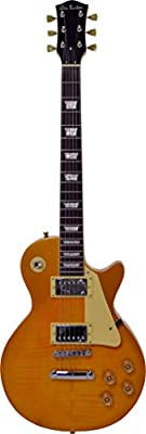 Glen Burton GE320BCO-GLD Classic LP-Style Electric Guitar, Gold