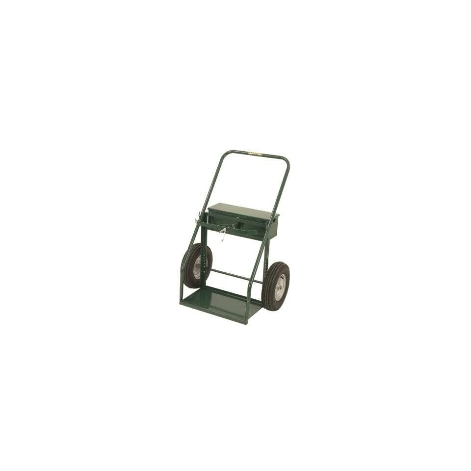 Harper Trucks 940 72 49 Inch High by 35 Inch Wide Continuous Handle Large Cylinder Hand Truck with 16 Inch Pneumatic Wheels