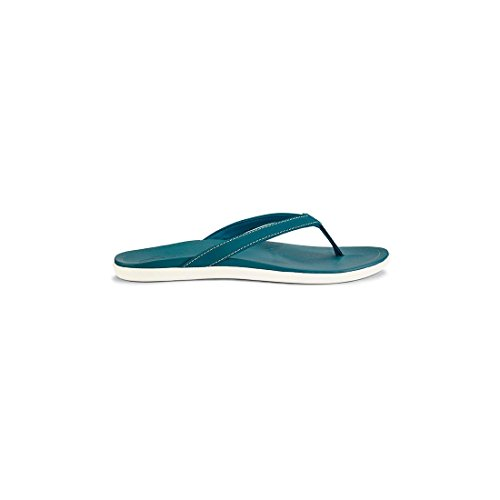 Olukai Woman bleu Hoopio Sandal jave Copper Brown Vert ZZwfdq