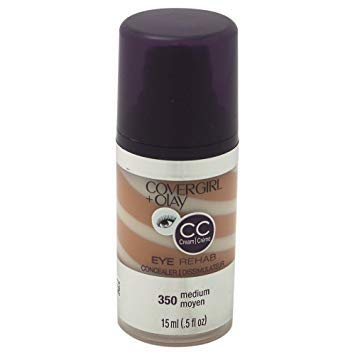 (Pack 2) COVERGIRL + Olay Eye Rehab Concealer Medium 350.5 oz