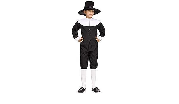 Childs Large Forum Novelties Pilgrim Boy Costume
