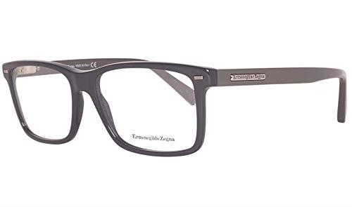 ERMENEGILDO ZEGNA EZ5002-020 ACETATE EYEGLASS FRAME Black 57MM from Ermenegildo Zegna
