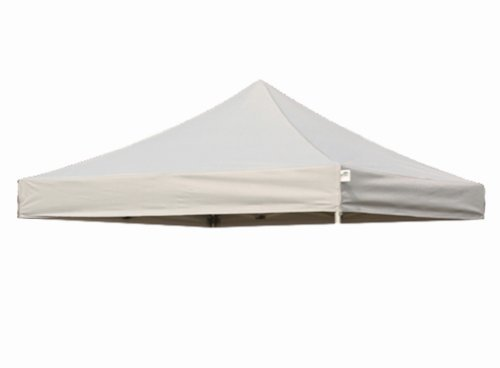 Eurmax New Pop up 10x10 Replacement Instant Ez Canopy Top Cover Choose 15 Colors (Gray)