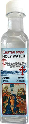 Jordan River Holy Water Holy Sepulchre Jerusalem - 300ml by Bethlehem Gifts ()
