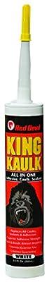 Red Devil 0956 King Kaulk Hybrid Polymer, White, 9.0-Ounce