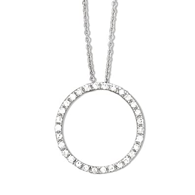 Circle Of Life Pendant Amazon sterling silver circle of life necklace 125 inch sterling silver circle of life necklace 125 inch diameter audiocablefo