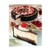 Alden Merrell Desserts Hot Fudge Sundae Cheesecake, 96 Ounce - 2 per case. (Cream Cheese Fudge)