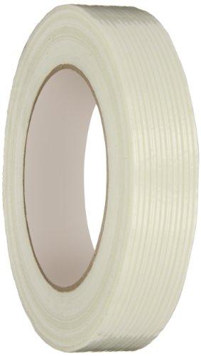 (IPG Uni-Directional Medium Grade Filament Tape, 24mm x 54.8M, Natural (36-Pack))