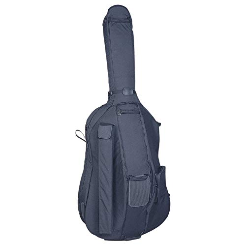Cushy Glider174; Bass Bag with Wheels - 3/4 Size (Best Upright Bass Case)