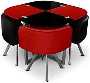 GIOVANNI MARCHESI Table de Repas avec 4 chaises Design