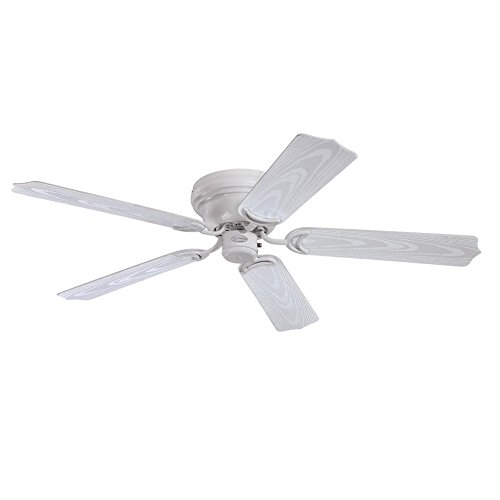 Westinghouse Lighting 7217200 Contempra 48-Inch Indoor/Outdoor Ceiling Fan, White - Fan Outdoor Westinghouse Ceiling White