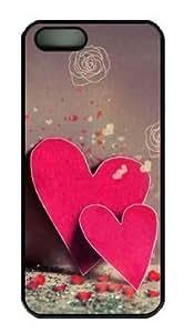 Sakuraelieechyan Love Heart-3 Iphone 5/5S Hard Shell Black Sides Case by ruishername