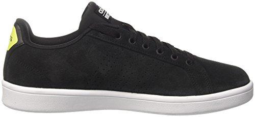 Low Black adidas Solar Sneakers Black Cloudfoam Yellow Core Men Advantage Top SRSxWgwUqt