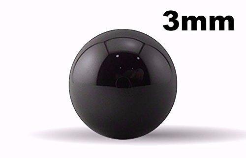 3Mm Si3N4 Silicon Nitride Ceramic Ball Bearings G5-200 Balls BC Precision 3MMBCSI5