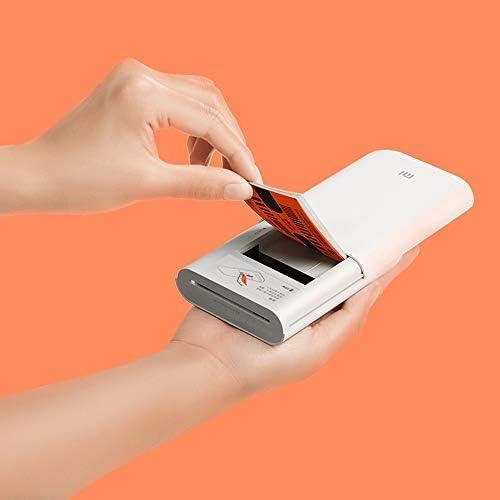 20 fogli di carta fotografica di alta qualit/à da 3 Carta fotografica portatile per stampante Xiaomi