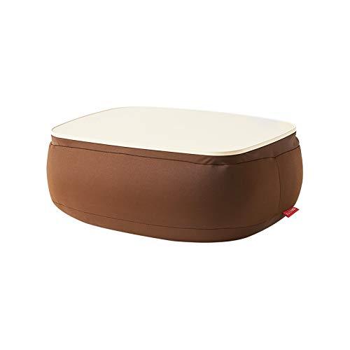 Unbekannt Kissen Faule Couchfarbe des Kissens auf ovalem Kissen des Kleinen Tischkissens faul Couchkissenbüroautokissenbüro-Schlafkissen (Color : Brown, Size : 36 * 26 * 16cm)