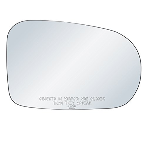 exactafit 8838R Replacement Passenger Right Side Mirror Glass Convex Lens fits 2001-2005 Honda Civic by Rugged TUFF