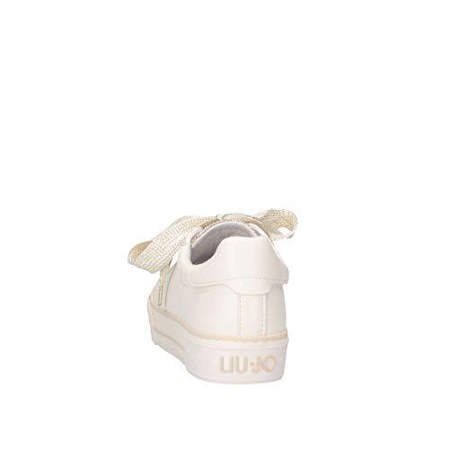 20258 jo Bianco Liu 0513 Donna Girl L3a4 Sneakers platino qtxZv