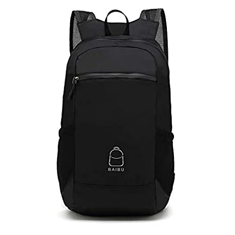 f6c00cca070d Amazon.com | Foldable Packable Backpack Lightweight Water Resistant ...