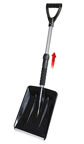 Superio 381 Extendable Car Snow Shovel with Foam Grip Handle, - Extendable Shovel