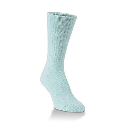 World's Softest Men's/Women's Classic Collection Crew Socks (Medium, Sea Salt)
