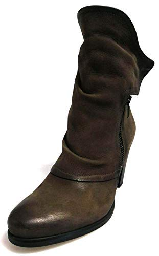 Stivali Marroni in Pelle | Scarpe Donna Tamaris
