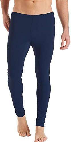 ab8de9e4af83fb Coolibar Men's Collants de Natation Anti-UV 50 + Bleu Marine Taille ...