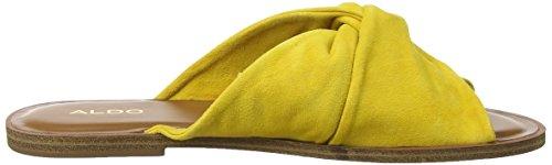 Aldo Women's Sessame Open Back Slippers Yellow (Golden Yellow 69) HjjKTuk