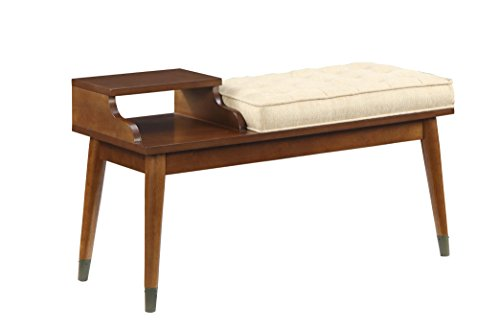 96774 baptis walnut bench