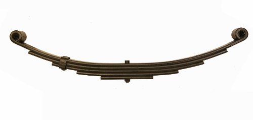 LIBRA New Trailer Leaf Spring-5 Leaf Double Eye 3000lbs for 6000 Lbs Axle - -