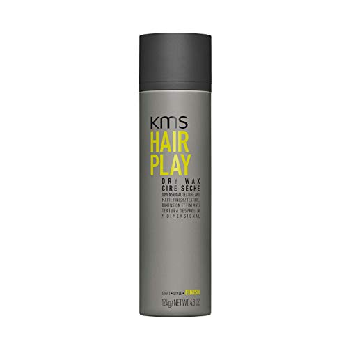 (KMS HAIRPLAY Dry Wax Dimensional Texture & Matte Finish, Definition, Flexibility, Lightweight, 4.3)