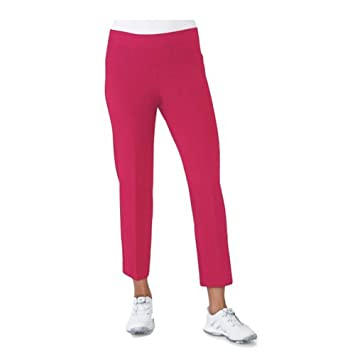 1c21c736b Adidas LADIES Ultimate Adistar Crop Golf Pant (Energy Pink, Small ...