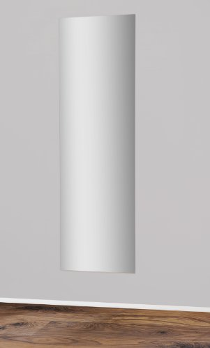 5136-2 - Spiegel 171x51cm / Rückwand buche - Kante silber