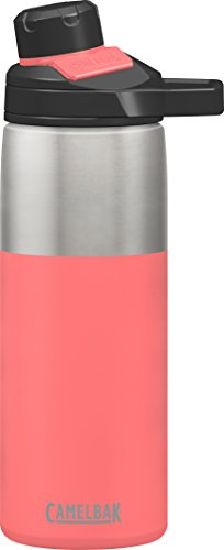 CamelBak Chute Mag Stainless Water Bottle, 20oz, Coral
