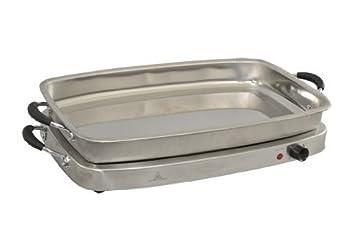 Kitchen Chef L-BS400C - Bandejas de buffet (450 W)