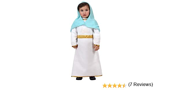 Atosa-12772 Atosa-12772-Disfraz De Virgen niña bebé-talla 0 a 6 ...
