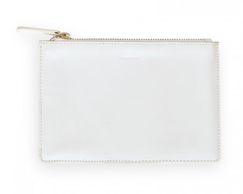 Leather Stash Sack in White by russell+hazel® [Kitchen]