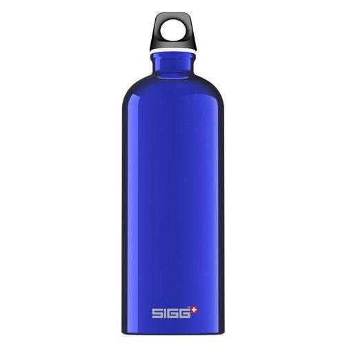 Sigg Water Bottle - Traveller Dark Blue - 1 Liter