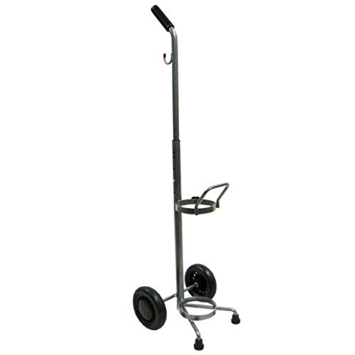 - Rolling 2 Two Wheel Oxygen Tank Cylinder Cart Carrier