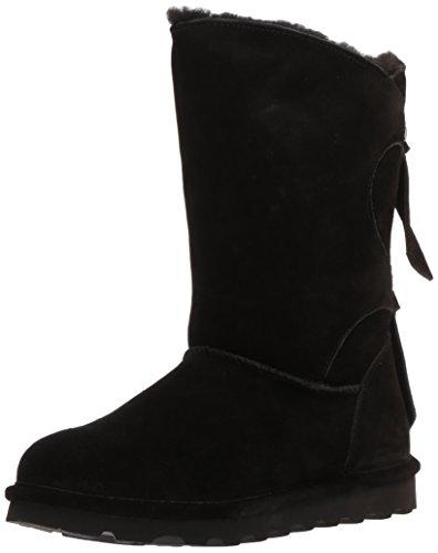 Willow Women's Ii BEARPAW Black Boots Rubber Wool Suede ZTqRqx