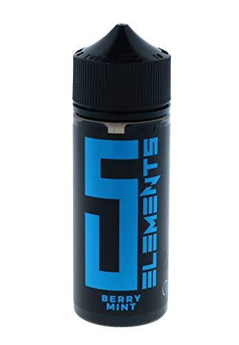 5Elements Aroma Berry Mint, Longfill Shake-and-Vape zum Mischen mit Base Liquid für e-Zigarette, 0 mg Nikotin, 10 ml