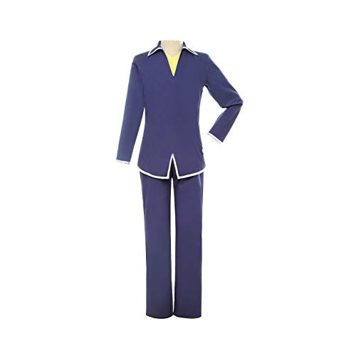 Souma kyo Cosplay Costume Fruits Basket Anime Cosplay Tops Pants Uniform Suit Set for Men Boys